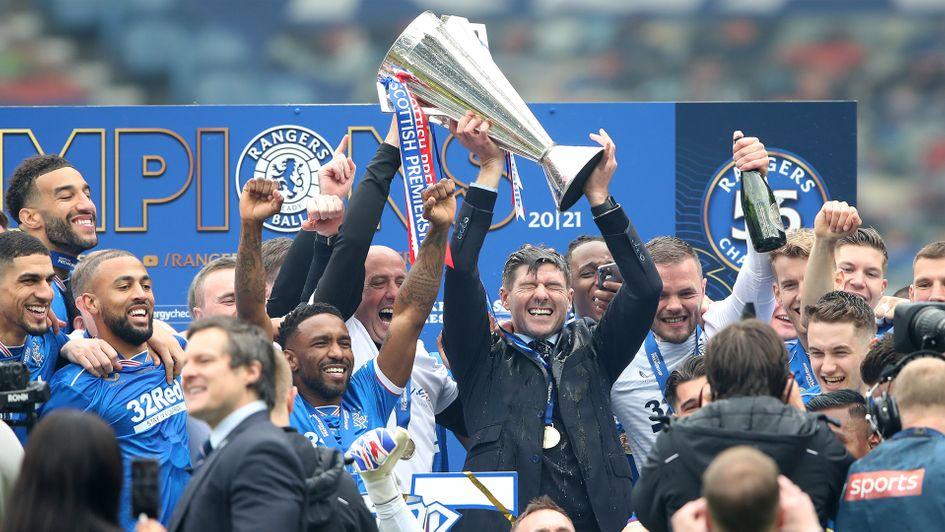 Steven Gerrard's Rangers Completes Season As Invincibles