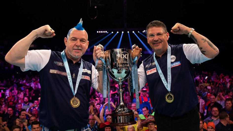 Peter Wright and Gary Anderson won the World Cup of Darts for Scotland (Picture: Stefan Strassenberg/PDC Europe)