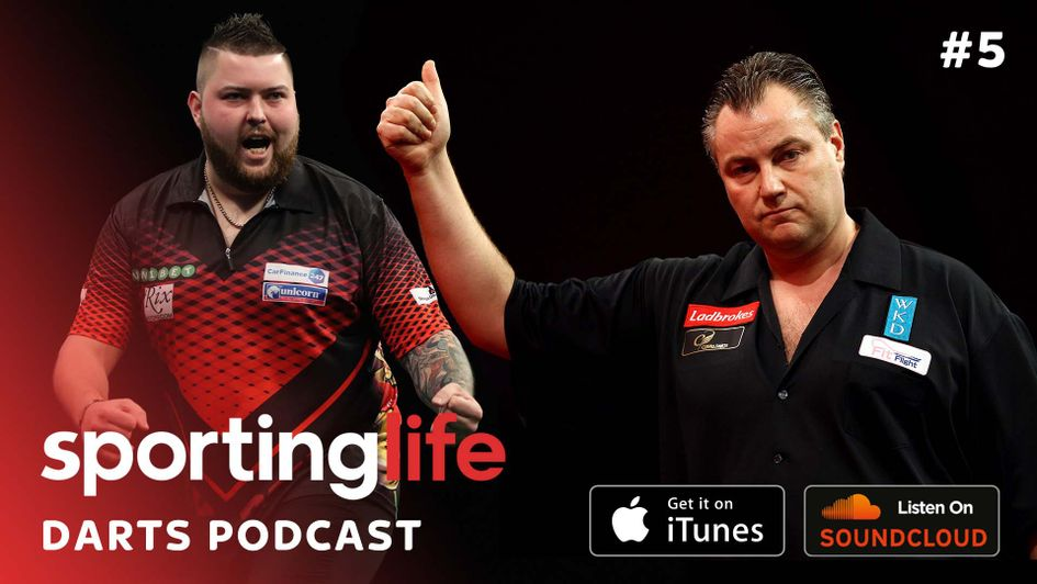Find out how to listen to the latest edition of the Sporting Life Darts Podcast