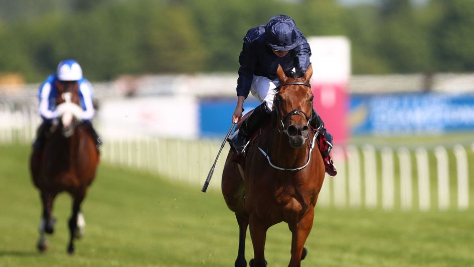Rhododendron on her way to Lockinge victory