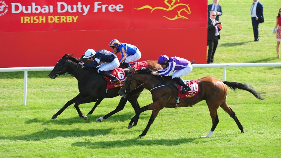 Latrobe comes out on top in a thrilling Irish Derby