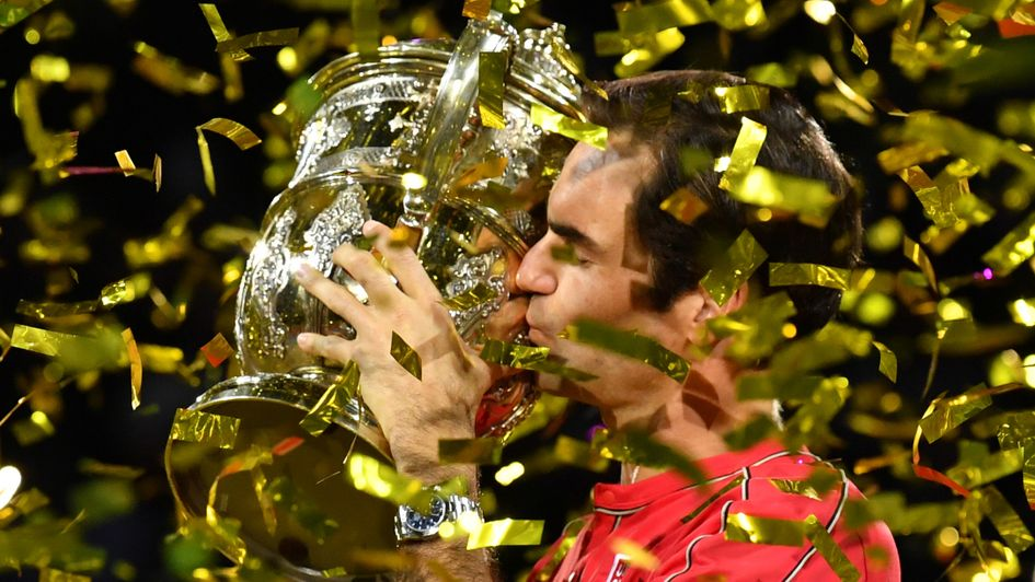 Another title for Roger Federer