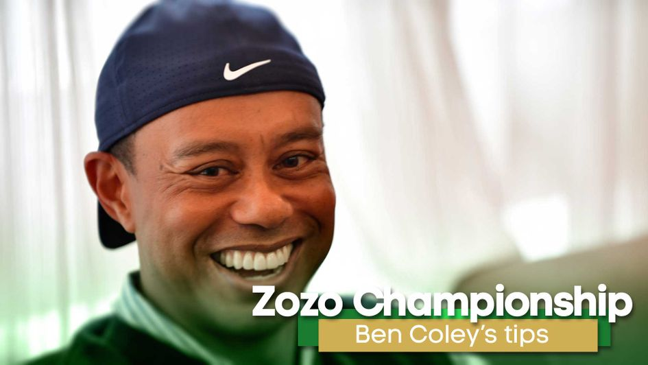 Tiger Woods is competing in the Zozo Championship