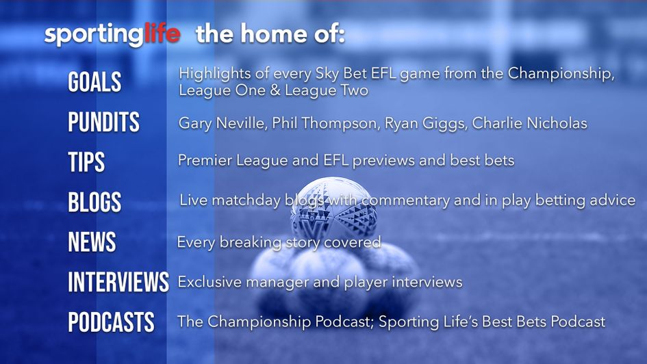 Sporting Life - the number one website for football