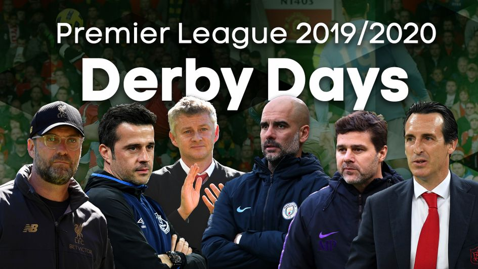 Derby days in the 2019/20 Premier League