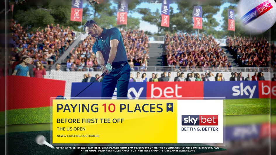 Sky Bet are paying 10 places on each-way bets