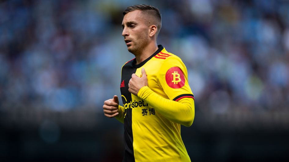 Gerard Deulofeu: Spanish ace in action for Watford