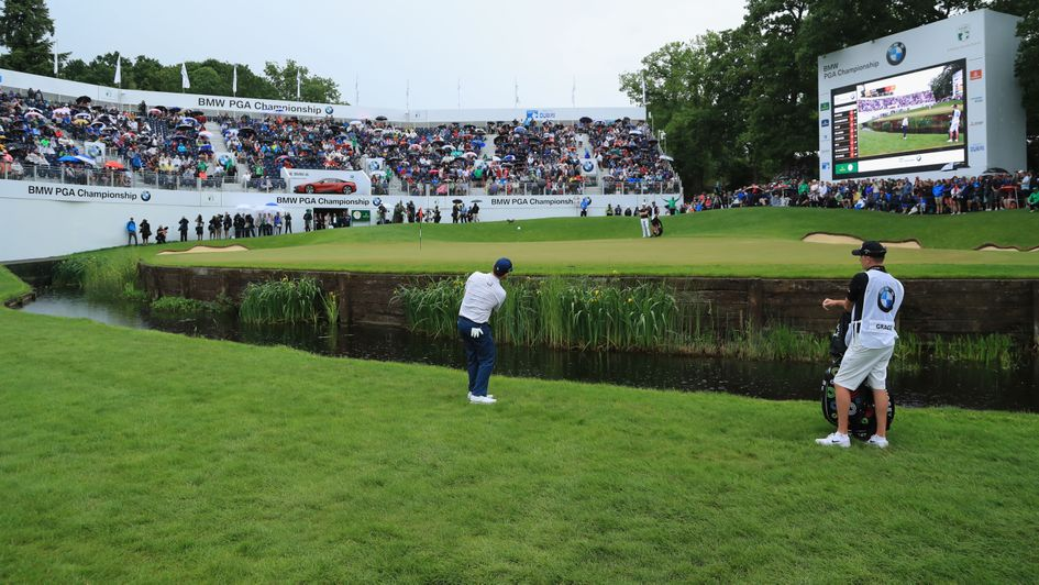 Branden Grace in action at Wentworth
