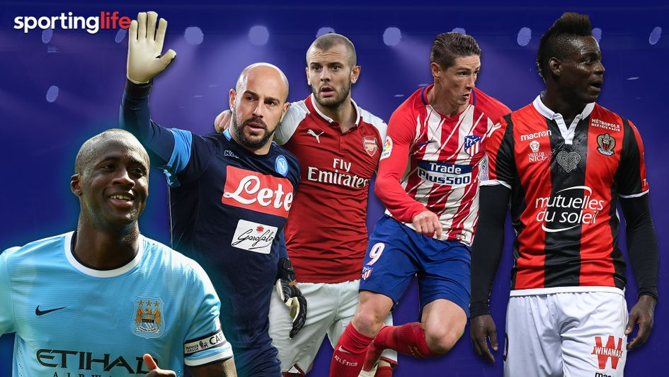Bosmans 2018: Some of the players available on free transfers this summer