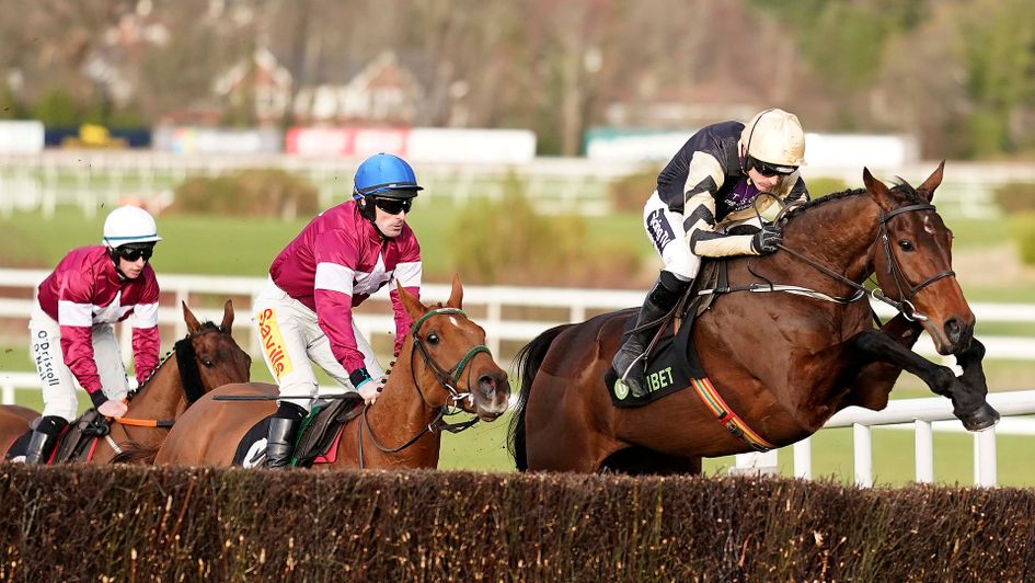 Bellshill (right) jumps his way to victory