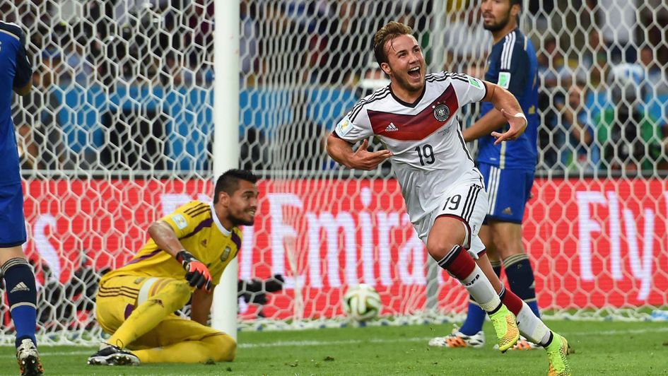 Mario Gotze scored the Germany winner in the 2014 World Cup final