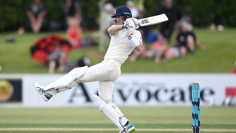 Joe Denly on the charge for England