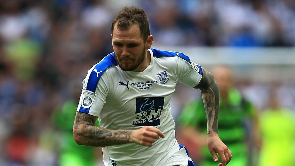 Tranmere's James Norwood has five goals so far