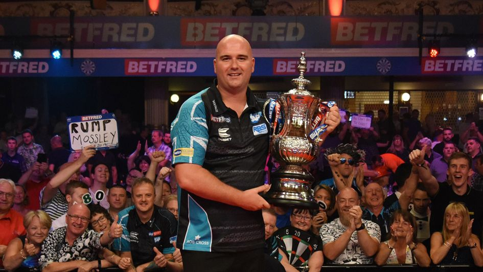 Rob Cross is the World Matchplay champion (Picture: Lawrence Lustig/PDC)