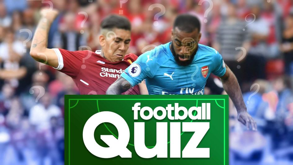 Try Sporting Life's latest football quiz on Liverpool v Arsenal games