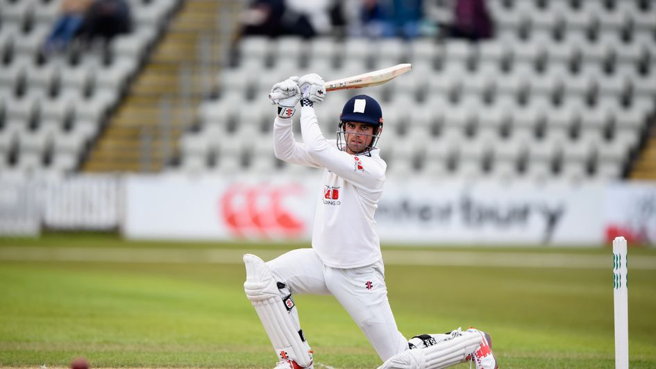 Alastair Cook has been made available for Essex