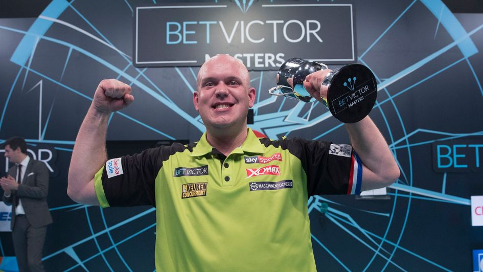 Michael van Gerwen won the Masters for the fifth year in a row