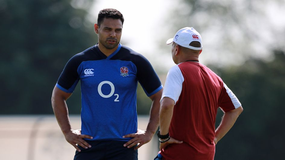 Ben Te'o and Eddie Jones