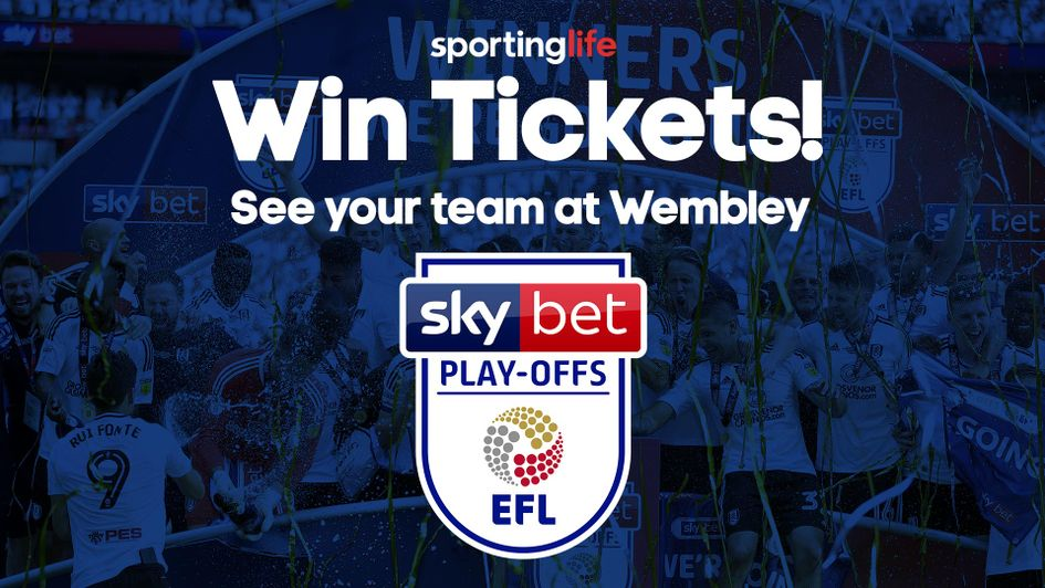 Win tickets to every EFL play-off final game at Wembley