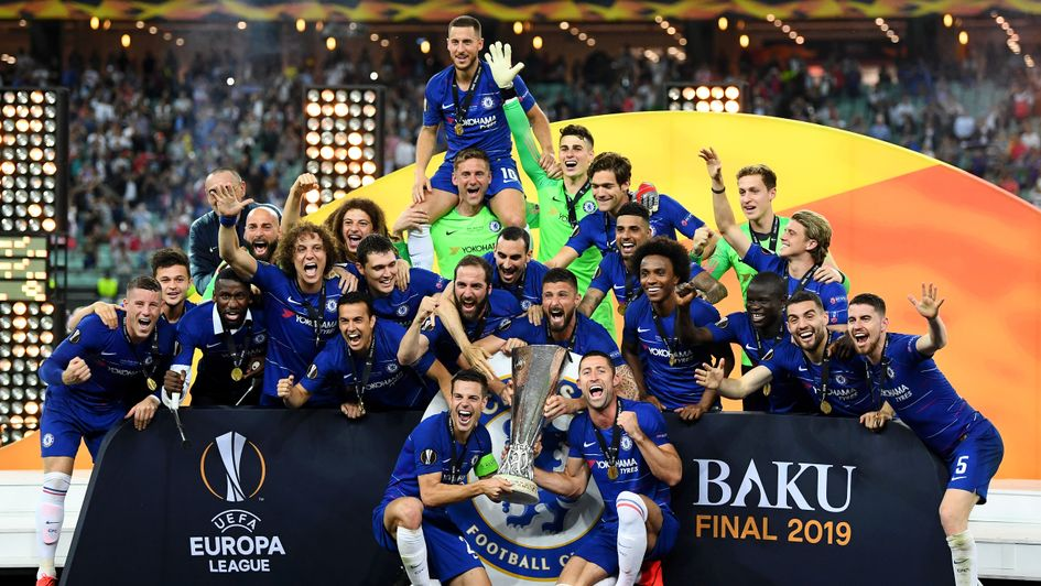 Chelsea beat Arsenal to win the 2018/19 Europa League