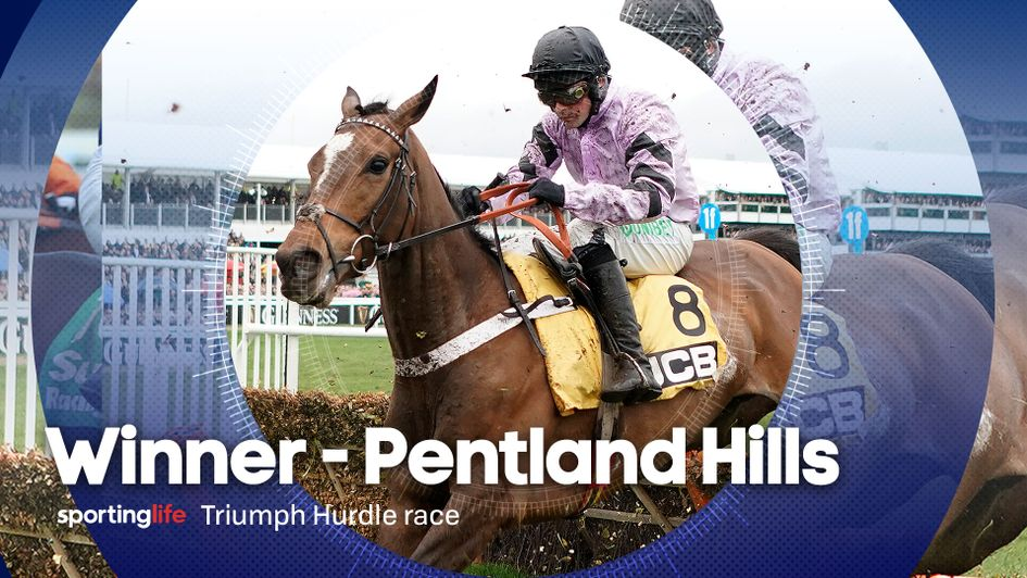 Pentland Hills won the opening race of Gold Cup Day at Cheltenham