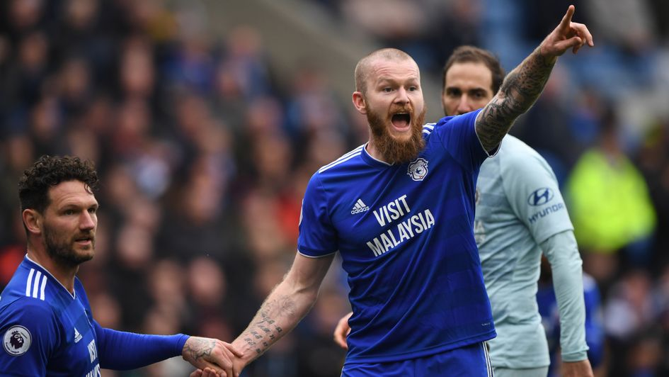 Aron Gunnarsson: Iceland and Cardiff midfielder pictured in action against Chelsea