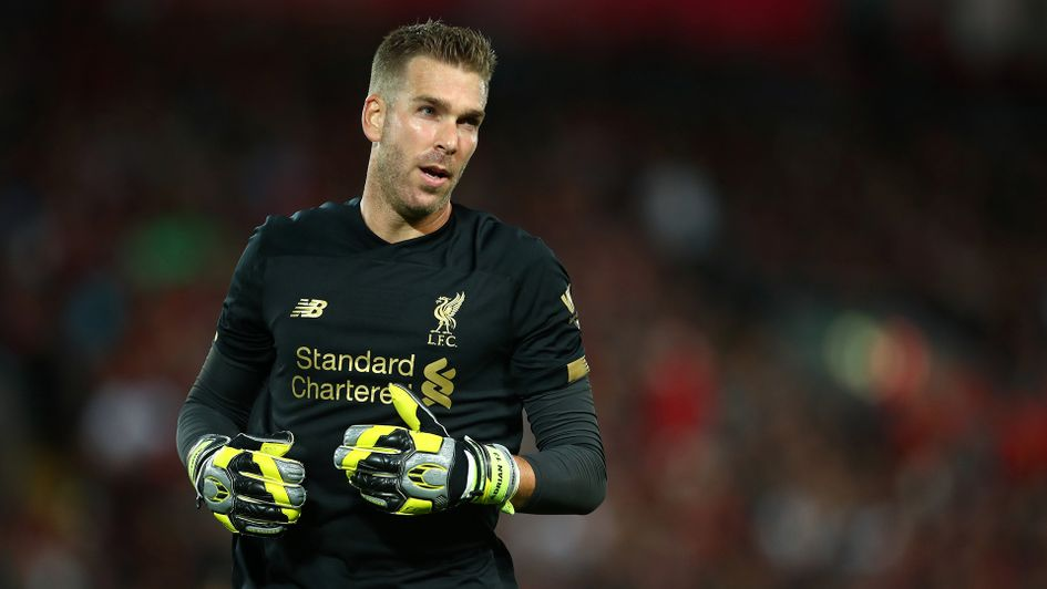 Adrian in action for Liverpool
