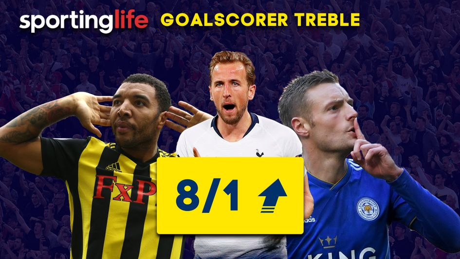 Sporting Life goalscorer treble: Troy Deeney, Harry Kane and Jamie Vardy feature