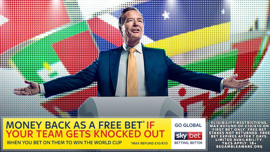 Sky Bet's World Cup offer