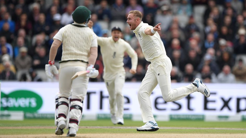 Stuart Broad got David Warner out seven times during the Ashes