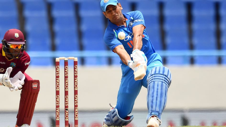 MS Dhoni top scored with 78