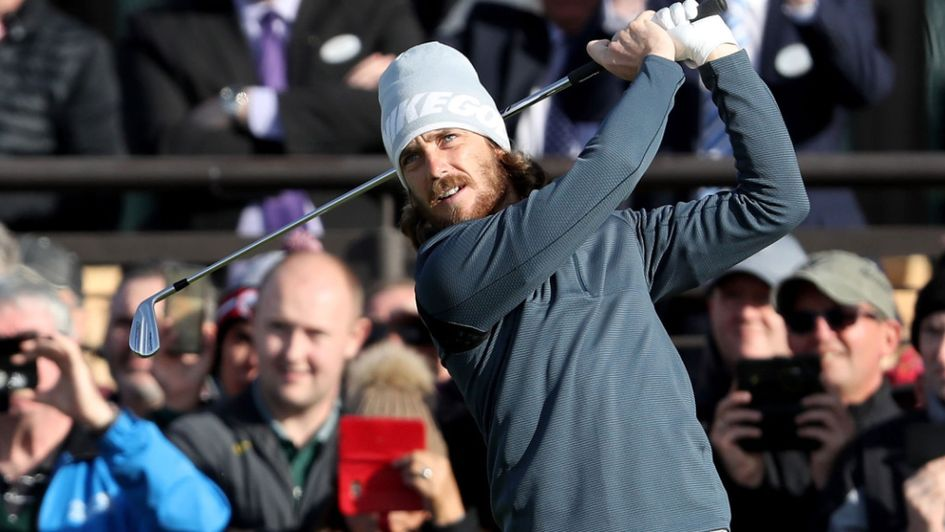 Tommy Fleetwood in action