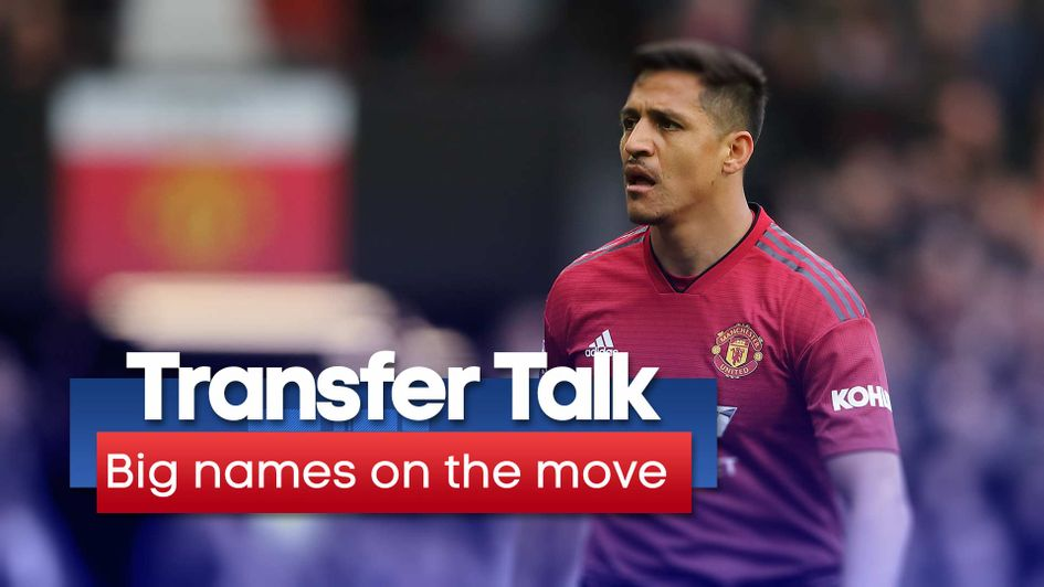 Alexis Sanchez is one of a few big names still looking to move during the transfer window
