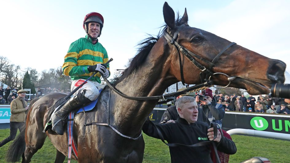 Edwulf: Fine after remarkable Irish Gold Cup win