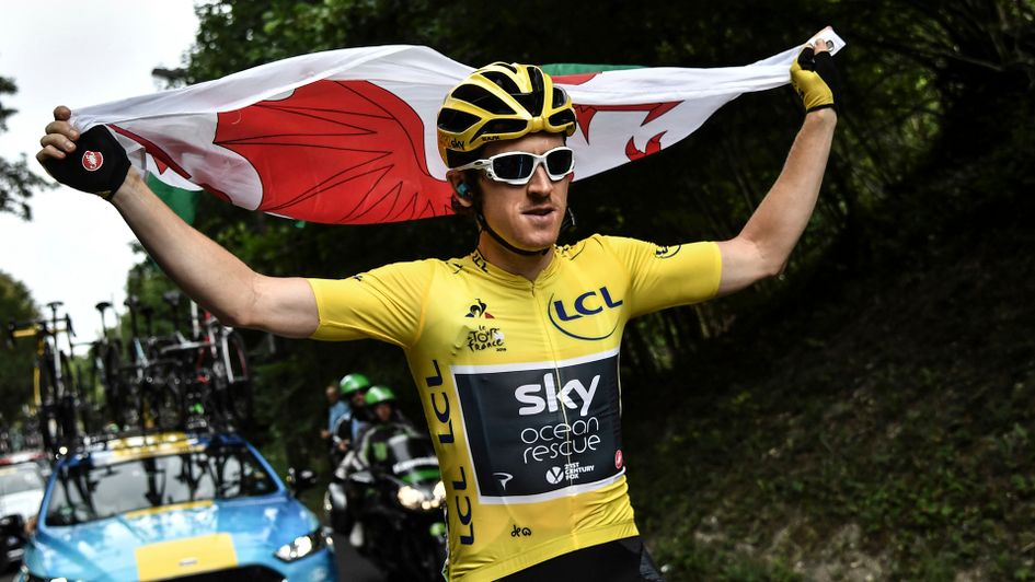 Geraint Thomas rides to victory