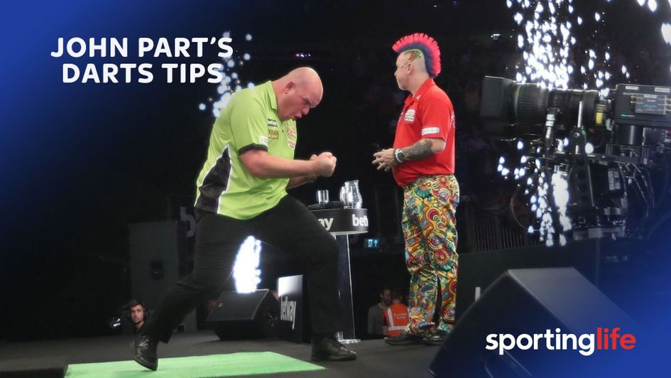 Find out who John Part is backing in this week's Premier League Darts