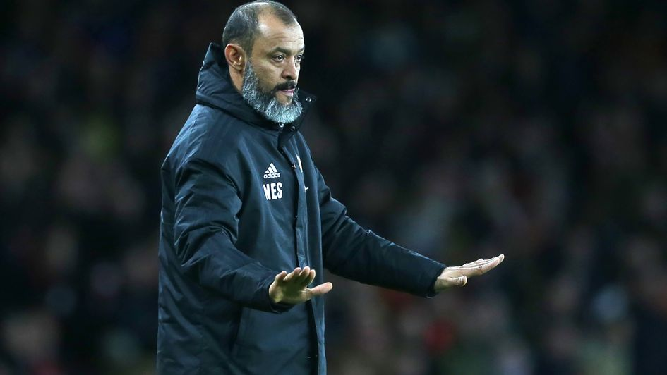Nuno Espirito Santo: Wolves boss remaining calm in their current run
