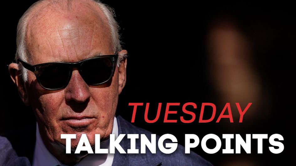 Tuesday Talking Points Matt Brocklebank Previews The Day S Racing