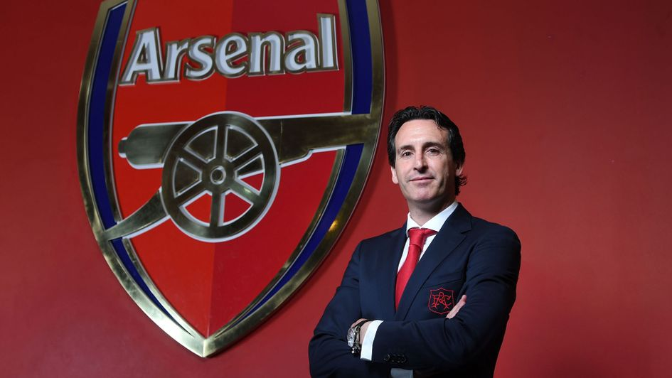 Unai Emery is the new Arsenal boss