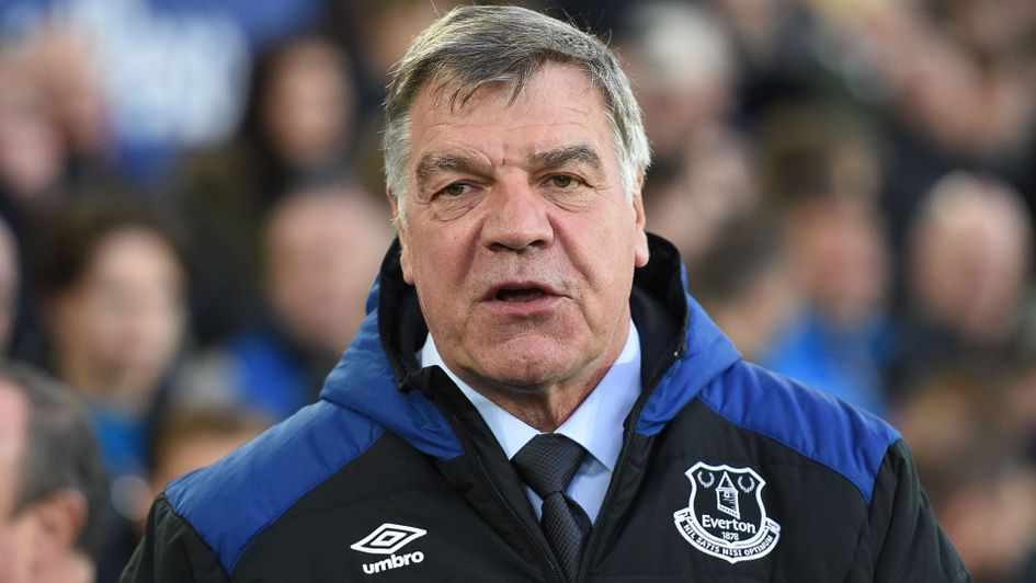Sam Allardyce: The Everton manager is planning for next season at Goodison Park
