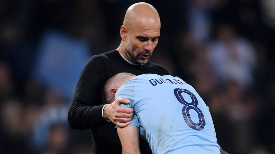 Pep Guardiola must now pick up his Manchester City players after disappointment in the Champions League