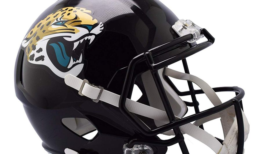 You could win this Jacksonville Jaguars helmet
