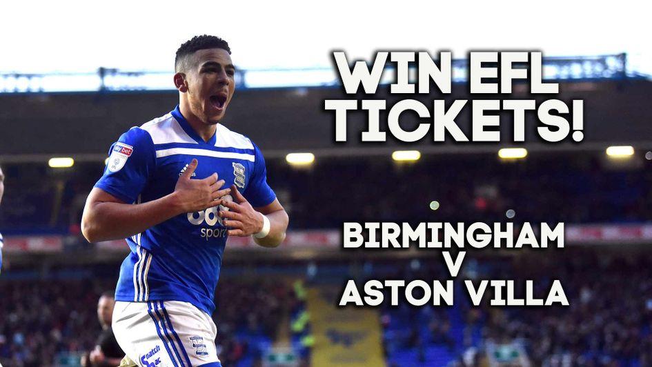Win Birmingham v Aston Villa tickets with Sporting Life