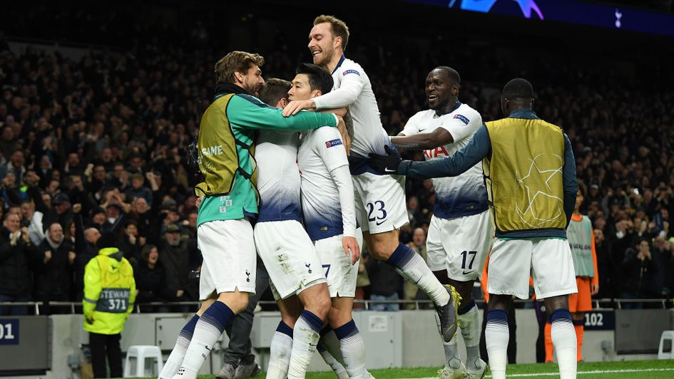 Delight for Tottenham in their win over Manchester City