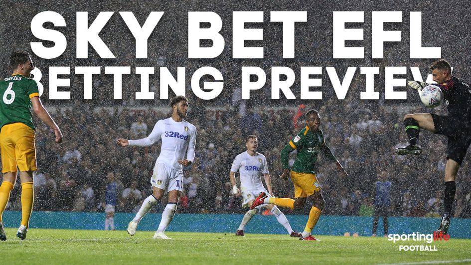 Our best bets for the latest round of Sky Bet EFL action
