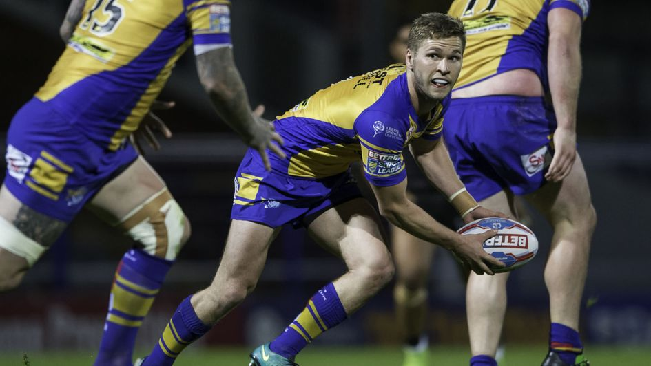 Matt Parcell in action for Leeds