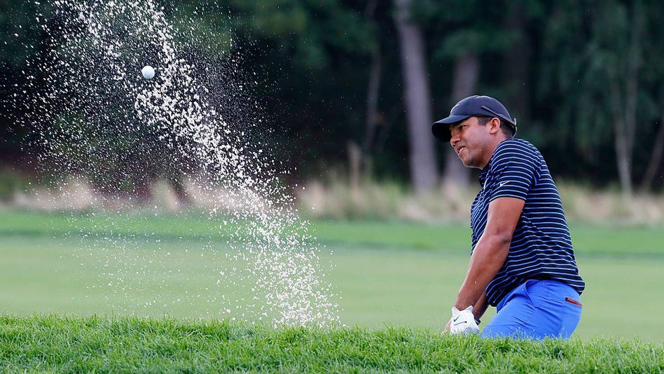 Jhonattan Vegas in action at Bethpage in 2016