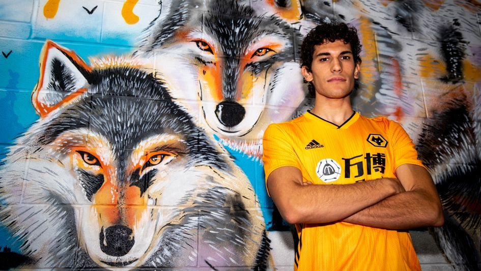 Jesus Vallejo: Spanish defender signs for Wolves on season-long loan from Real Madrid