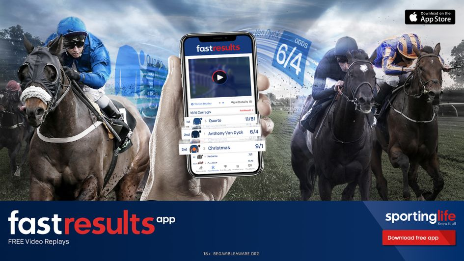 Download Sporting Life's Fast Results app, which includes free video replays from every UK & Irish race