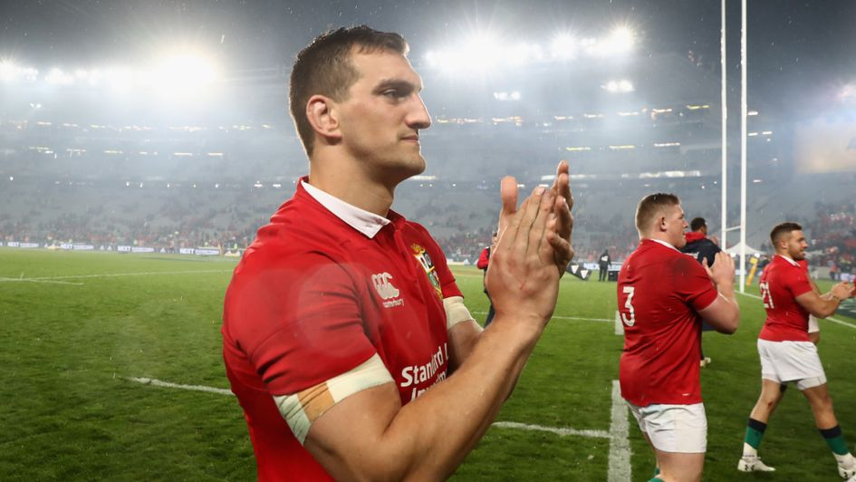 Sam Warburton's recovery is going well